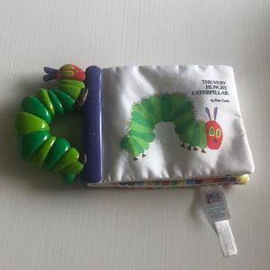 The very hungry caterpillar baby book